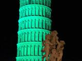 Torre di Pisa colorata