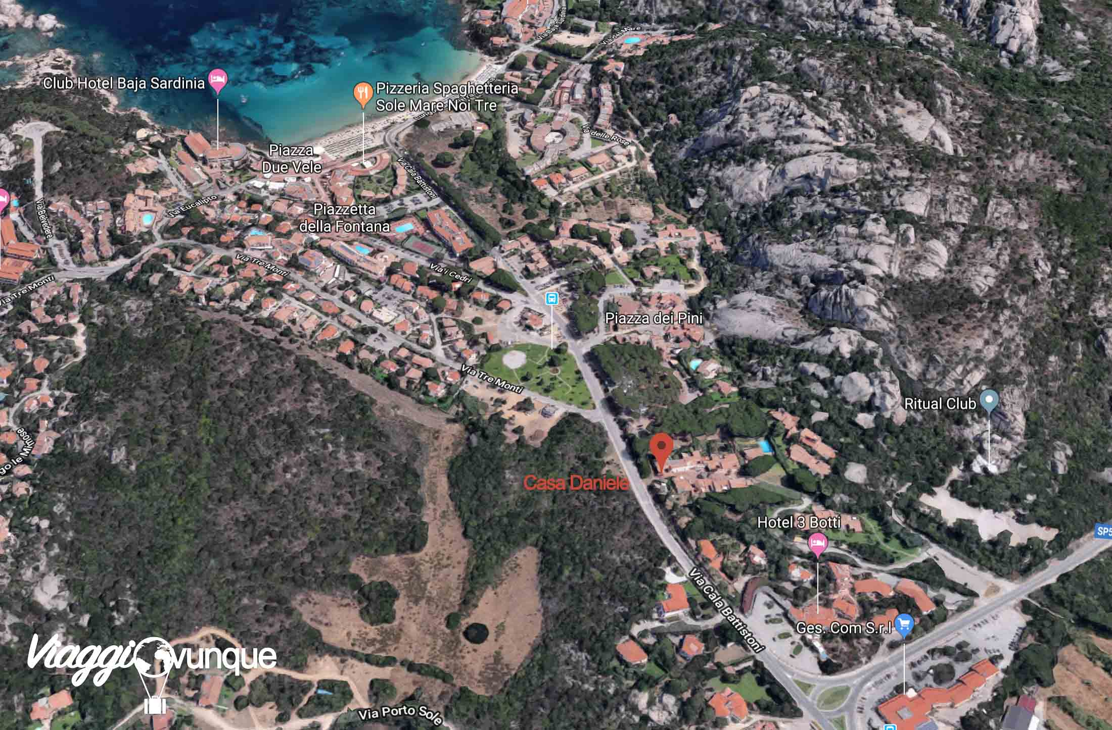Casa Daniele Baja Sardinia
