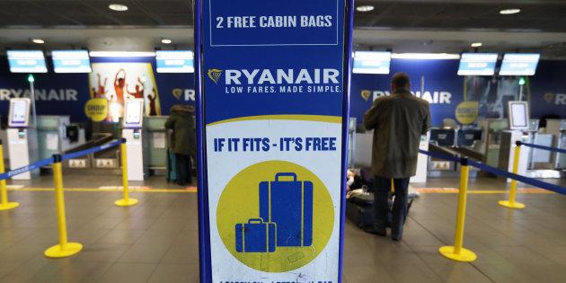 Bagaglio a mano Ryanair: le nuove regole
