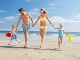 Vacanza con la famiglia