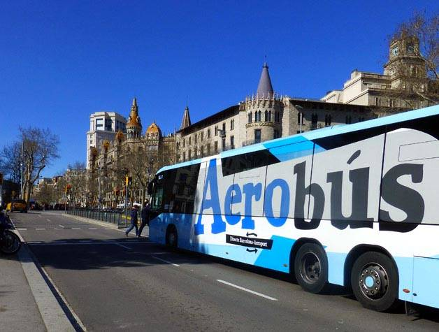 aerobus Girona Barcellona
